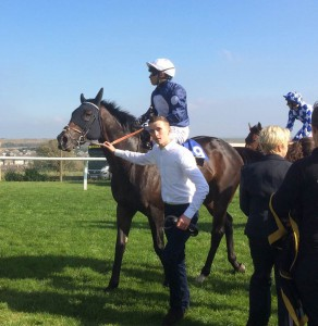 Juanito Chico following his win at Brighton