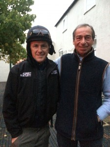 William with the greatest jockey, AP McCoy